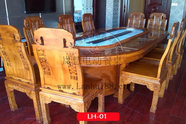 橢圓形電動餐桌廠報價